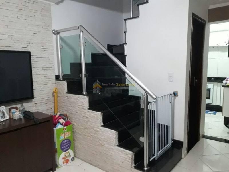 condominio fechado em condomínio para venda no bairro vila ré, 02 suites, sala, cozinha, lavabo, 1 vaga , 55 metros - 3193