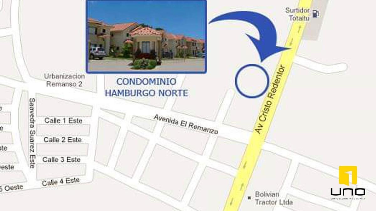 condominio hamburgo norte casa en alquiler