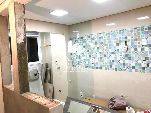 condomínio home club em guarulhos com 52m² 2 dormitórios