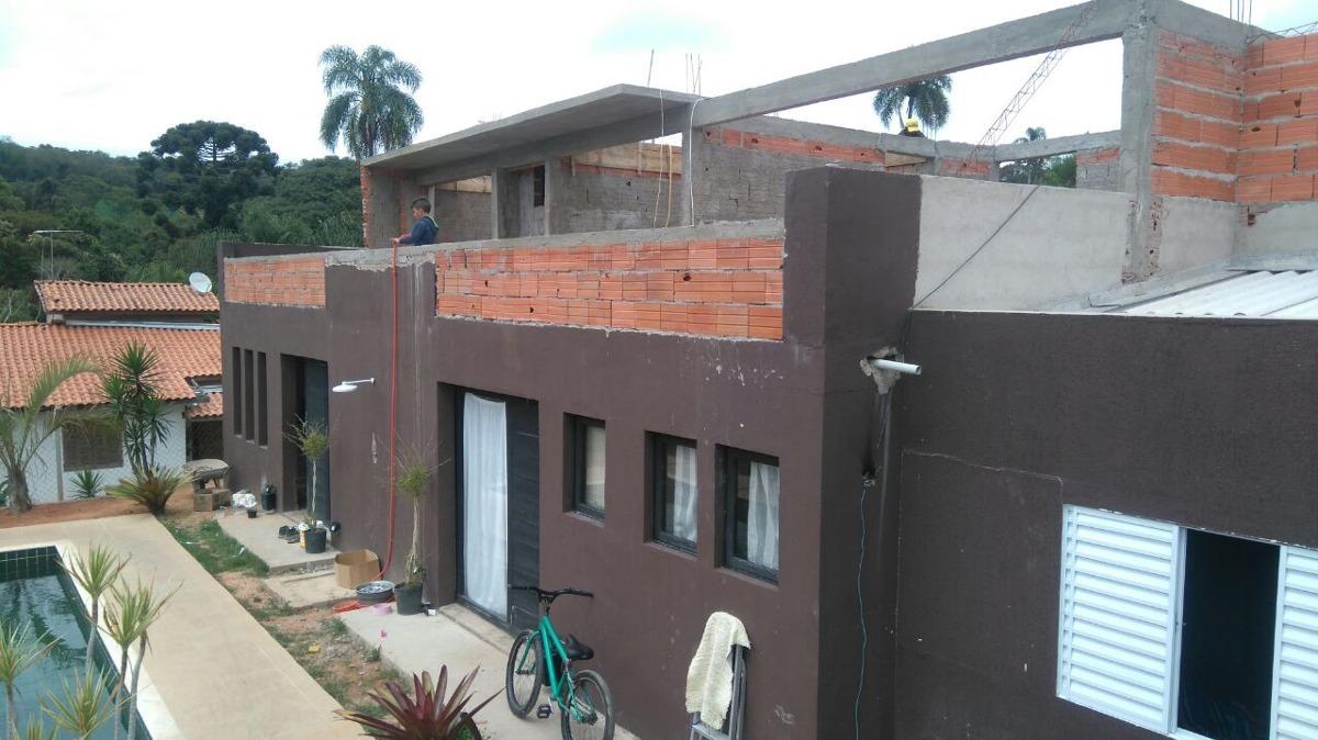 condomínio ibiúna 1.000 mts casa, piscina ac carro e parcelo