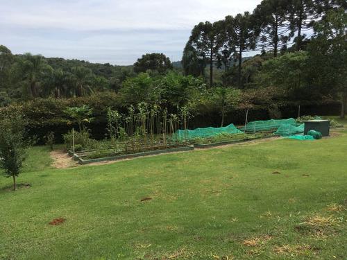 condomínio ibiúna 5.000 m casa rustica, piscina , ac represa
