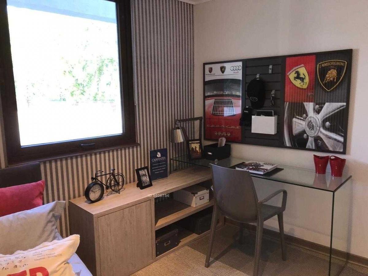 condominio la reserva / hacienda de macul amoblado