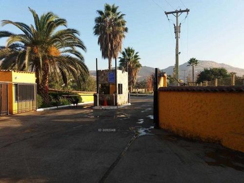 condominio mirador del valle, sector batuco, lampa.