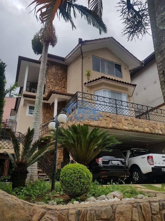 condomínio nova paulista sobrado com 3 dormitórios à venda por r$ 990.000 - parque nova jandira - jandira/sp - so1265