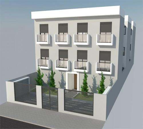 condomínio novo tipo apartamentos na vila guilherme com 1 dormitório - 170-im365169