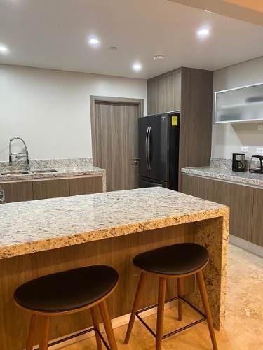 condominio nuevo amueblado en renta, torre onix, newcity residencial, zona rio