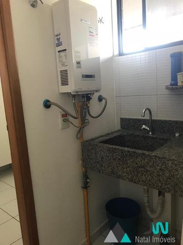 condomínio residencial porto arena - venda de apartamento em candelária, no porto arena, com 3 quartos mais dependência . - ap002133 - 2520379
