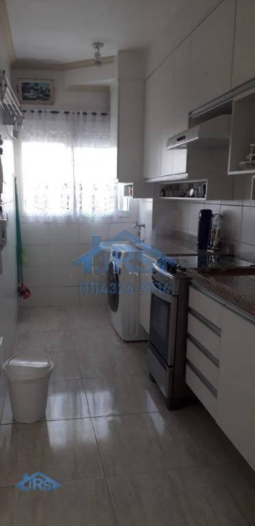 condomínio vista bella apartamento com 2 dormitórios à venda, 53 m² por r$ 280.000 - parque viana - barueri/sp - ap2346