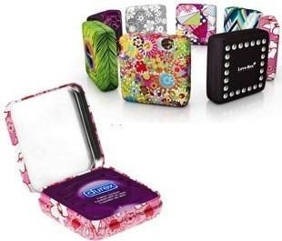 condoneras, love box, cajas portacondón secreto, cannabis...