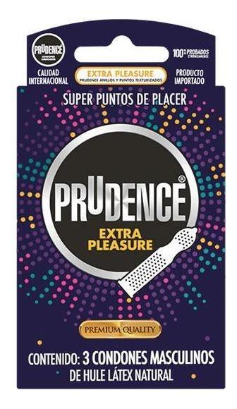 PRUDENCE EXTRA PLEASURE CON 3 CONDONES