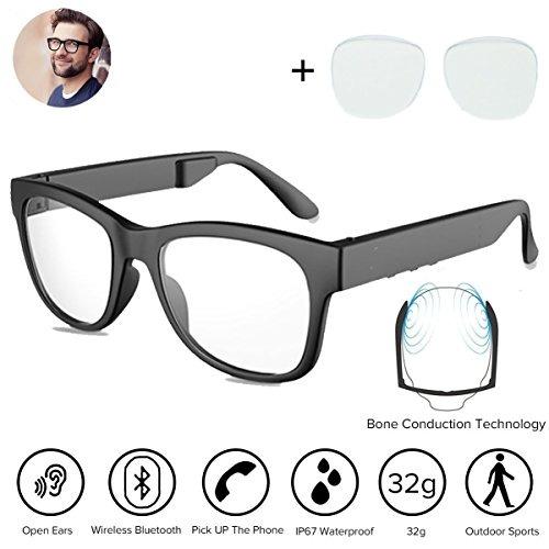 Gafas Hueso Bluetooh4 Auriculares Sol Conducción 1 De oCerQdxBW
