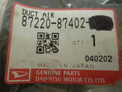 conducto aire terios original 8722087402