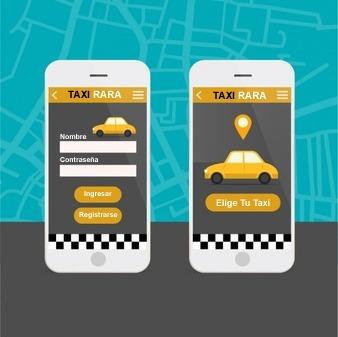 conductores taxi con aplicativo empresa peruana de taxis