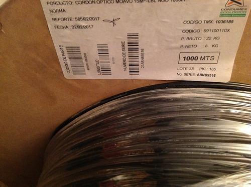 condumex bobina acometida óptica moavd monomodo 1msf bajante