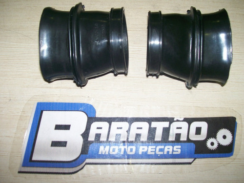 condutor de ar (par) carburador e filtro honda cb 400 450