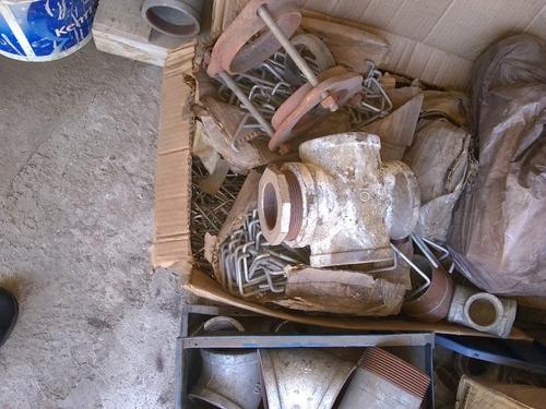 conecciones de tuberías galvanizada de 2  3  y 4  pulgadas