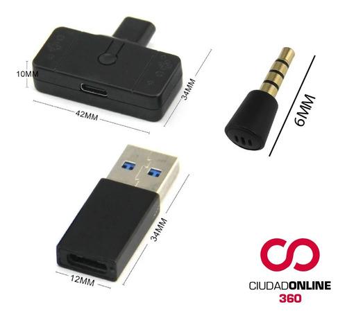 conecta bluetooth auriculares gamer ps4 y pc con microfono