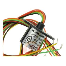 Conectar Rotativo Eletrico 6 Fios 2a P/ Automação