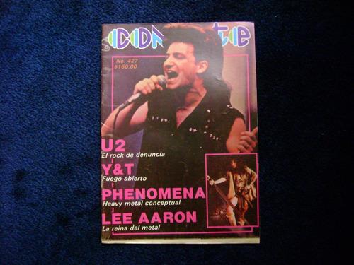 conecte #427 u2  revista de musica