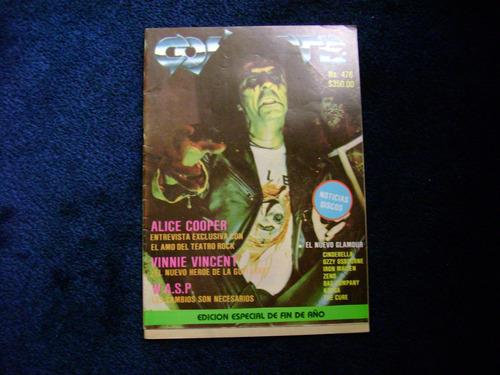 conecte #476 alice cooper  revista de musica