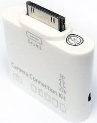 conector 2 en 1 lector memoria usb apple ipad 1 2 camara sd