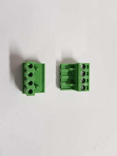conector 5,08mm akz fêmea 04 vias borne 10pçs