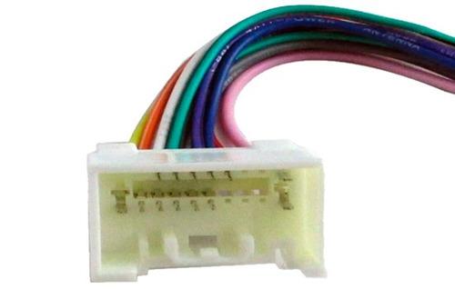 conector adaptador chicote mitsubishi lancer outlander origi