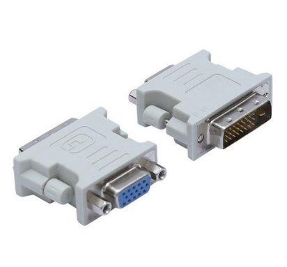 conector adaptador convertidor vga a dvi monitor video