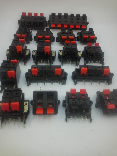 conector alto falante. kit com 17 peças diversos tipos