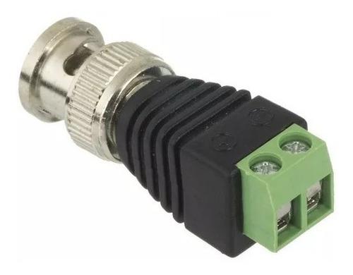 conector bnc borne p/ cftv câmera