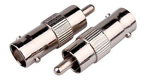 conector bnc rca ideal para tv ,cctv wireplus 10 conectores