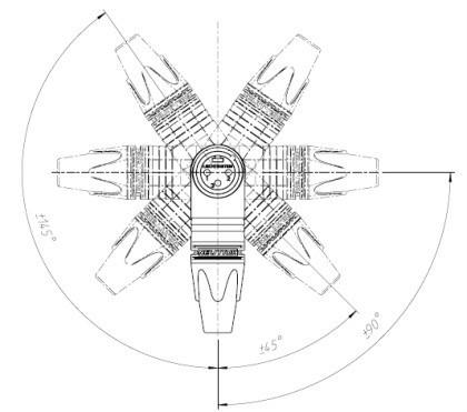 conector canon neutrik xlr  macho mod. nc3mrx-bag