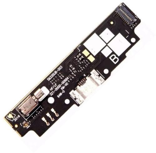 conector carga dock com placa asus zenfone go mini zb452kg