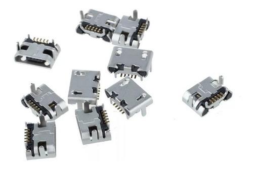 conector carga micro usb p/ caixa de som jbl flip 2 kit c/2