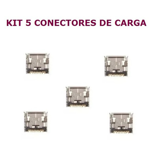 conector carga microusb original p/ samsung gt-s5360b c3222