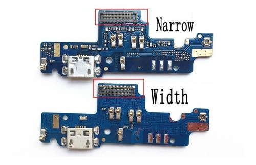 conector carga usb microfone redmi note 4x narrow