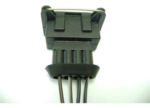 conector chicote atuador gm astra, fiat tipo, renault clio 1.6, r19 1.6, peugeot 106, bobina tipo, corsa, orig. 2pçs