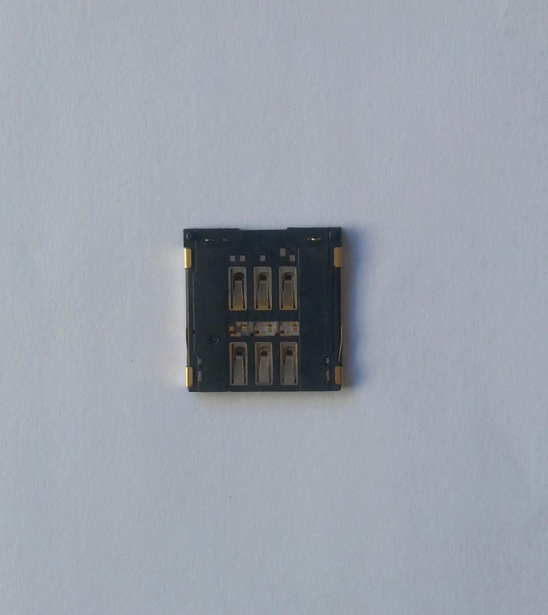 conector chip iphone 5 5s 5c leitor sim card original porta r 37 97 em mercado livre. Black Bedroom Furniture Sets. Home Design Ideas