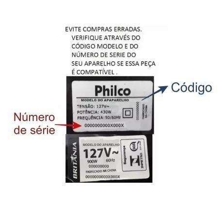 conector da jarra multiprocessador philco all in one 2