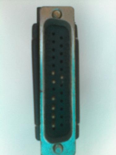 conector db25 a rj45 black box