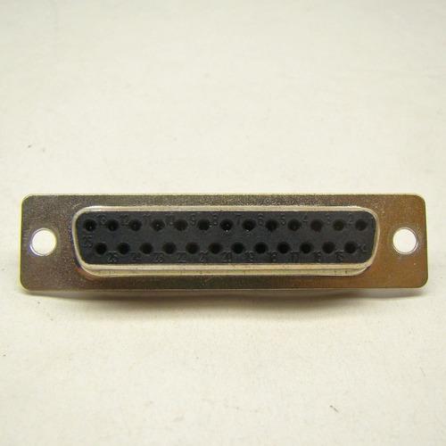 conector db25 fêmea solda pinos kit 3 + 10 macho c/ capa