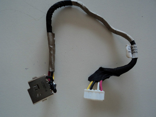 conector dc jack do notebook hp-dv41514/2014 semi novo