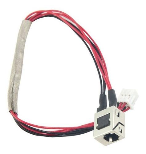 conector dc jack para notebook semp toshiba sti is-1422 com cabo marca bringit