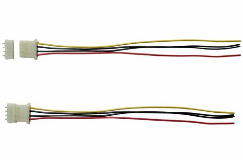 conector de 4 terminales para fuente de computadora
