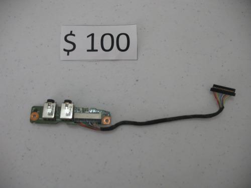 conector de audio compaq presario f700