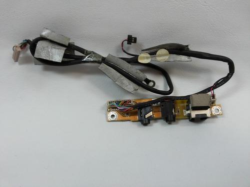 conector de audio  e rede ecs elite group 5365 cx74