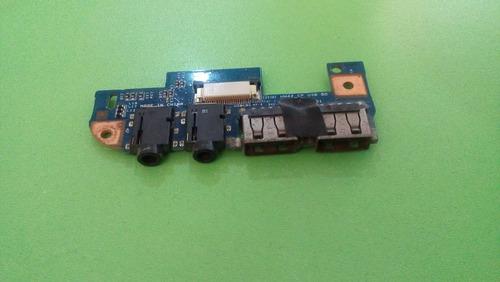 conector de audio y usb, emachines ms2305