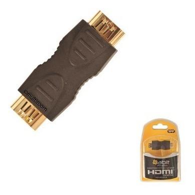 conector de cables hdmi extensor empalme hembra hembra zuget