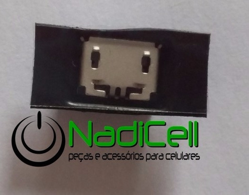 conector de carga lg a275 original com nf