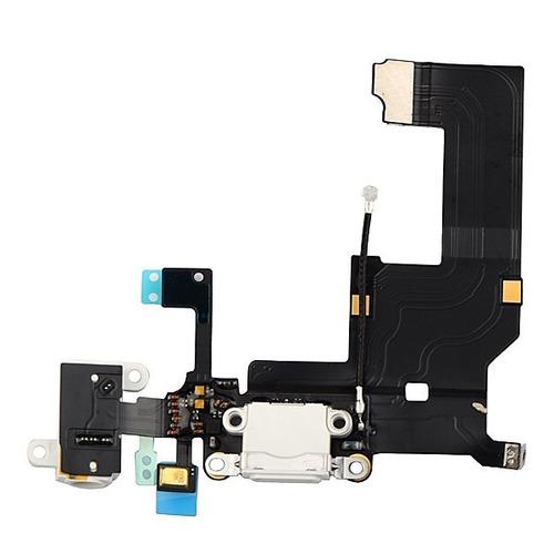 conector de carga para iphone 5g dock completo branco